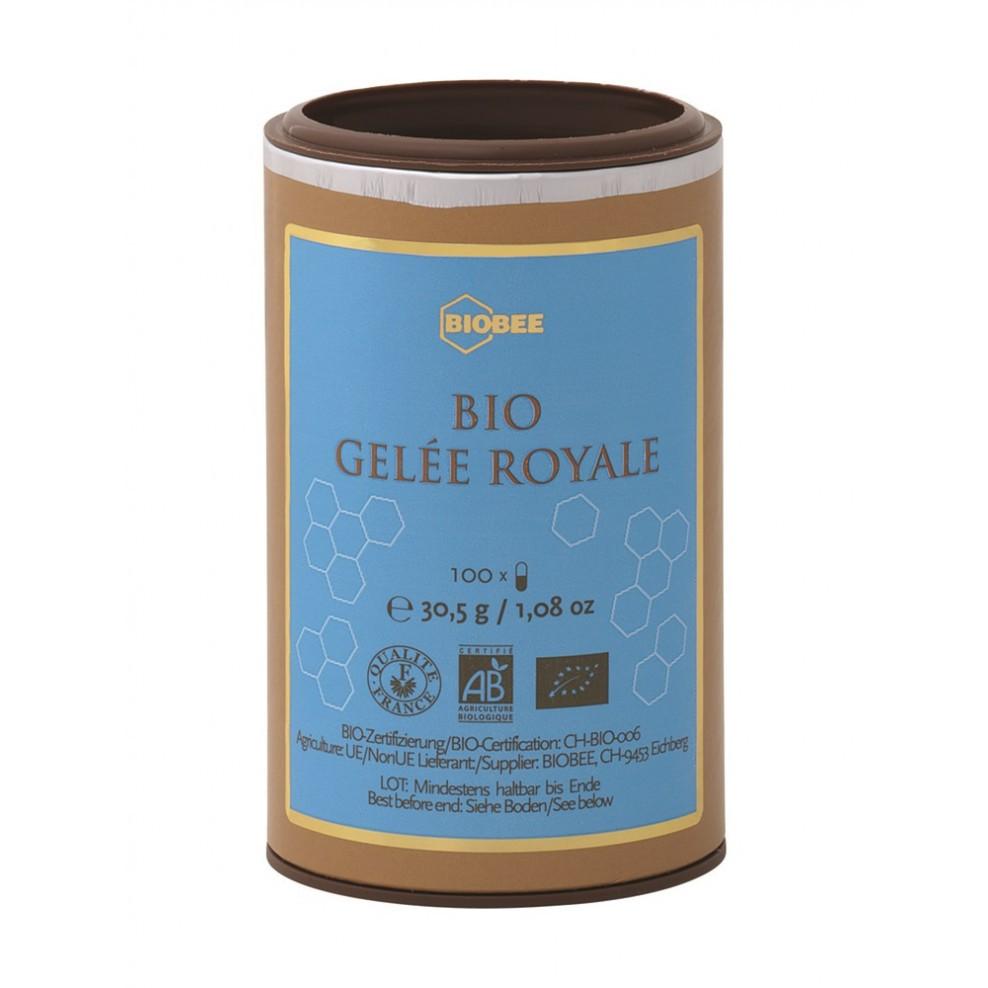 GELÉE ROYALE KAPSELN - BIOBEE
