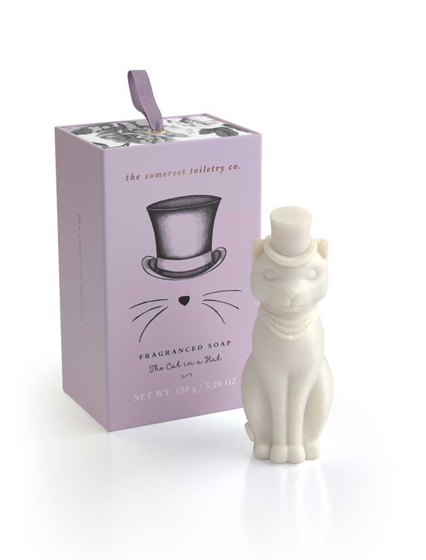 Cat Shaped Soap – Pink...
